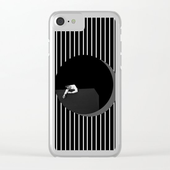 Tired? Clear iPhone Case