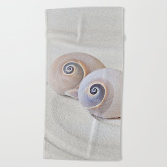 Zen Shell Harmony Still Life Beach Towel