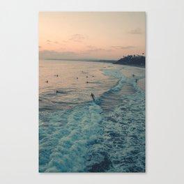 Surfin' day Canvas Print