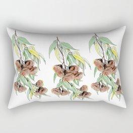 Flowering Red Gum Rectangular Pillow
