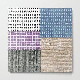 Primavera Mixed Pattern Metal Print