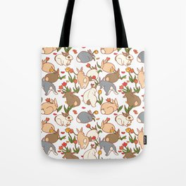 Bunny Infestation Tote Bag