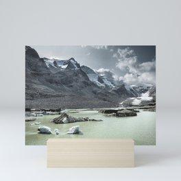 Remains of a Glacier Mini Art Print