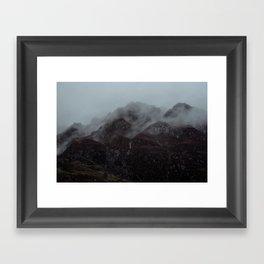 Moody Glencoe. Framed Art Print