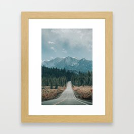 June Lake Loop Framed Art Print