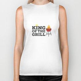 King of the grill Biker Tank