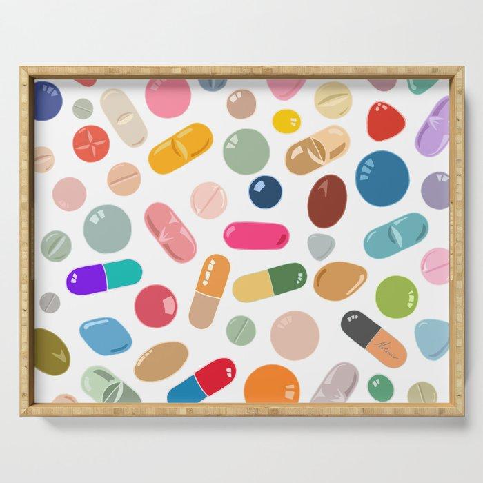 Sunny Pills Serving Tray