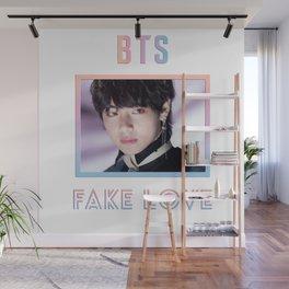 BTS Fake Love Design - V Wall Mural