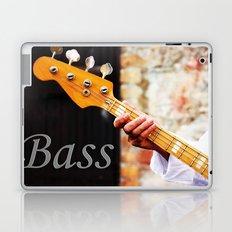 Bass Guitar neck , musical instrument  Laptop & iPad Skin