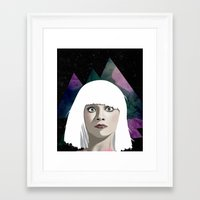 chandelier Framed Art Prints featuring Chandelier by Vuelle