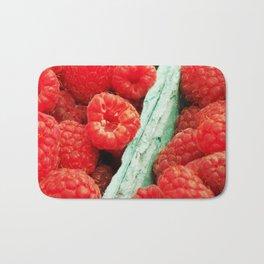 Ravenous Raspberries Bath Mat