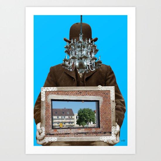 RahmenStudium 3 Art Print