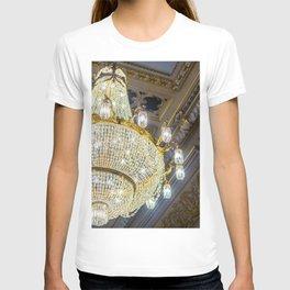 Luxury Crystal Chandelier T-shirt