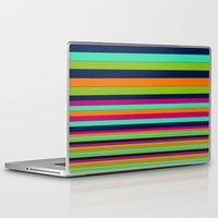 stripe Laptop & iPad Skins featuring Stripe by Aimee St Hill