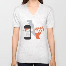 Texas Boy Unisex V-Neck