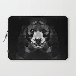 Bear - Black Geo Animal Series Laptop Sleeve