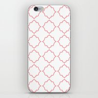 moroccan iPhone & iPod Skins featuring Moroccan Coral by Jenna Mhairi