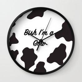 Cow Print! Wall Clock