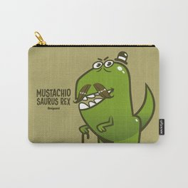 Mustachio Saurus Rex Carry-All Pouch