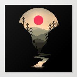 Exploring Earth Canvas Print