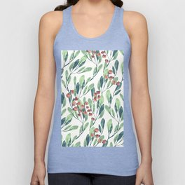 Branches and Leaves Unisex Tank Top