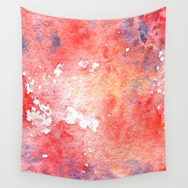 Symphony in red minor I Wall Tapestry