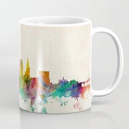 Cleveland Ohio Skyline Cityscape Coffee Mug
