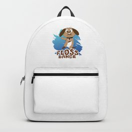 Floss Dance Move Dog Backpack