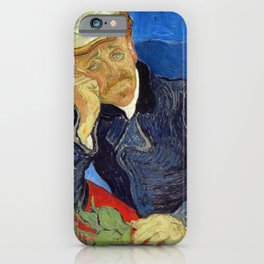 Vincent Van Gogh - Portrait of Dr Gachet iPhone Case