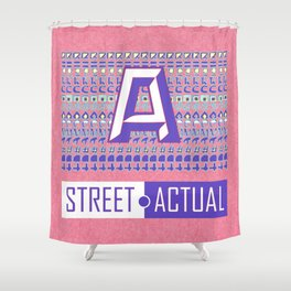 Street Actual Shower Curtain