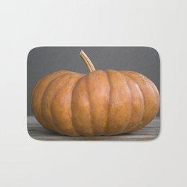 """""""Cinderella"""" Pumpkin no. 1 -- Still Life Squashes & Potirons Bath Mat"""