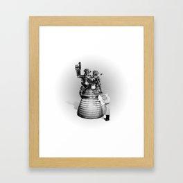 Rocket Scientist Framed Art Print