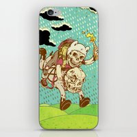 anarchy iPhone & iPod Skins featuring Anarchy Time by Beery Method