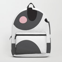 Panda Block Backpack