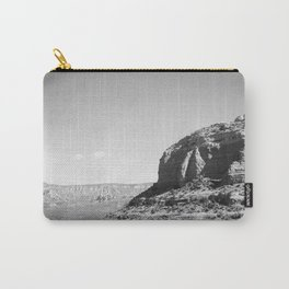 Sedona - Black and White Carry-All Pouch