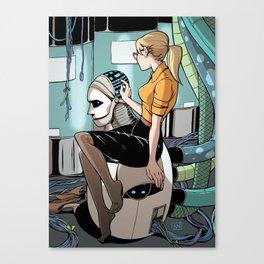 Monsters & Dames 2012 Canvas Print