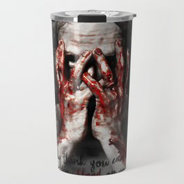 Rick Grimes from The Walking Dead Travel Mug