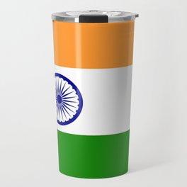 Flag of India-indian,mumbai,delhi,hindi,indus,buddhism,hinduism,buddha,gandhi Travel Mug