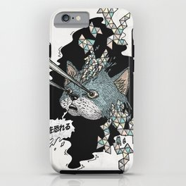 Meow... and fear me! iPhone Case