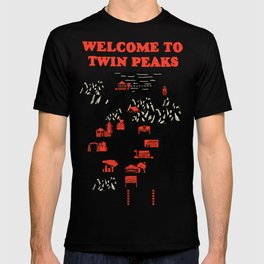Twin Peaks Map T-shirt