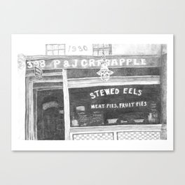 Crabapples' Pie Shop Canvas Print