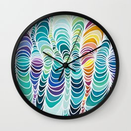 Rhythms of the Islands Wall Clock