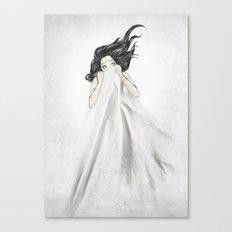 White As A Sheet Canvas Print