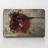 shih tzu iPad Cases featuring 3stars and the rising sun tzu sniper_diva of death by Designer R.M.D
