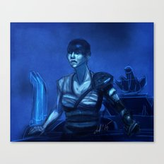 Furiosa in Blue Canvas Print