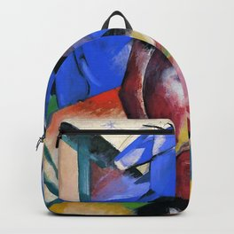 "Franz Marc ""Two Horses Under The Stars"" Backpack"