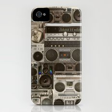Wall Of Sound iPhone (4, 4s) Slim Case