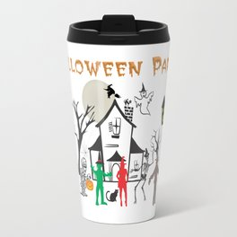 Halloween Party Travel Mug