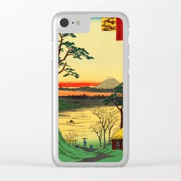 Japanese Tea House on River Clear iPhone Case