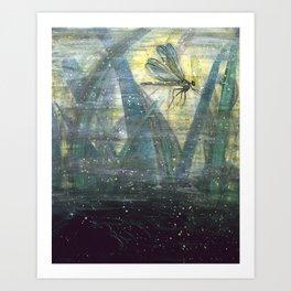 Dragonfly II: Timing Art Print